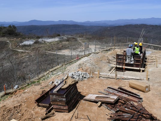 Sassafras Mountain Observatory project