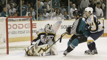 The Predators lost to the Sharks in a first-round series in both 2006 and 2007.