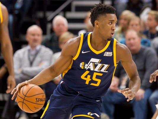USP NBA: DALLAS MAVERICKS AT UTAH JAZZ S BKN UTA DAL USA UT