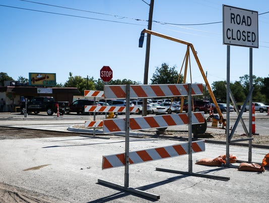 Construction continues on Martin Luther King Drive