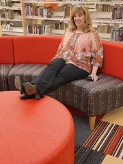 Rebecca Havenstein-Coughlin tries out seating in the round.