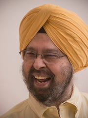 Iqbal Bhan, a Sikh comedian, lives in Canton.