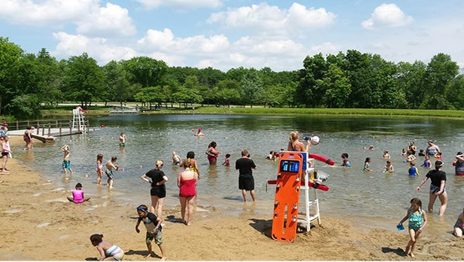 """Waukesha County Parks beaches will start transitioning to """"swim at your own risk"""" Aug. 14."""
