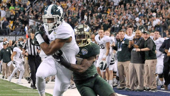 Michigan State's 42-41 win over Baylor in the Cotton Bowl is part of the ESPNU countdown.