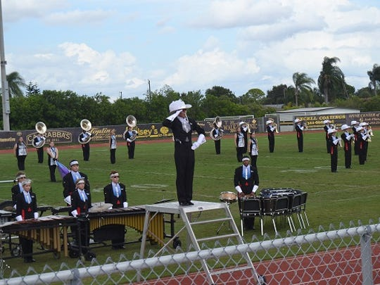 A performance of the Raider Regiment of Rockledge High School.