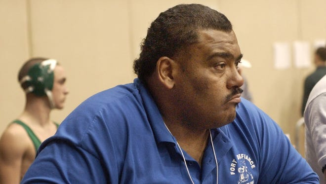 Coach Terry Waters in 2002