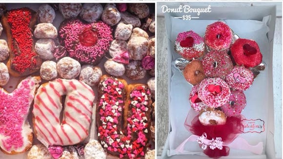 Flyboy Donuts is offering an assortment of romantic