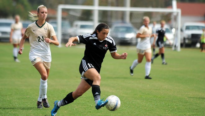 William Carey's Jamie Holifield was one of seven Crusaders to earn national honors.