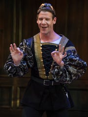 Jeb Burris plays Mercutio in the Utah Shakespeare Festival's