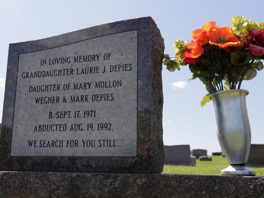 A memorial to Laurie Depies was added recently to a