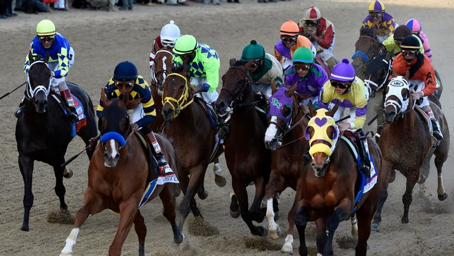 Churchill Downs announced they are expected to exceed 2014 sales for the Kentucky Derby.