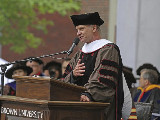 Brown Commencement Sting