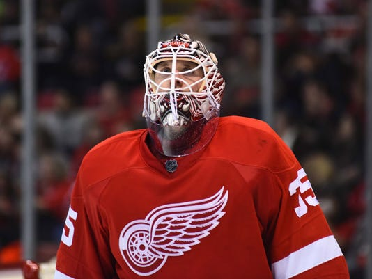 NHL: Anaheim Ducks at Detroit Red Wings