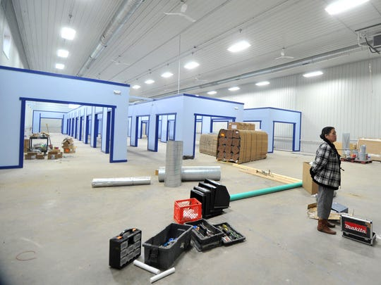 The Wausau World Market will have 28 stalls that vendors will be able to lease to sell their goods.