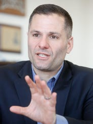 Dutchess County Executive Marc Molinaro in his office in Poughkeepsie on Feb. 28, 2018.
