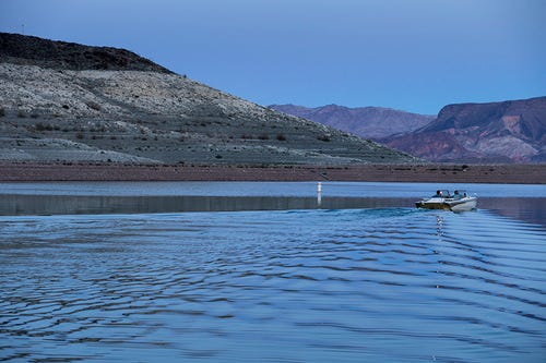 Lake Mead facing water crisis
