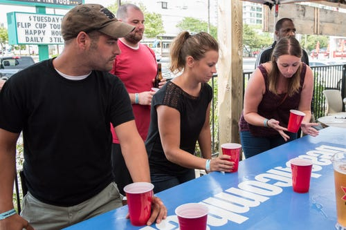 Watch: Beachcomber Flip Cup Tournament - Guidos Burritos