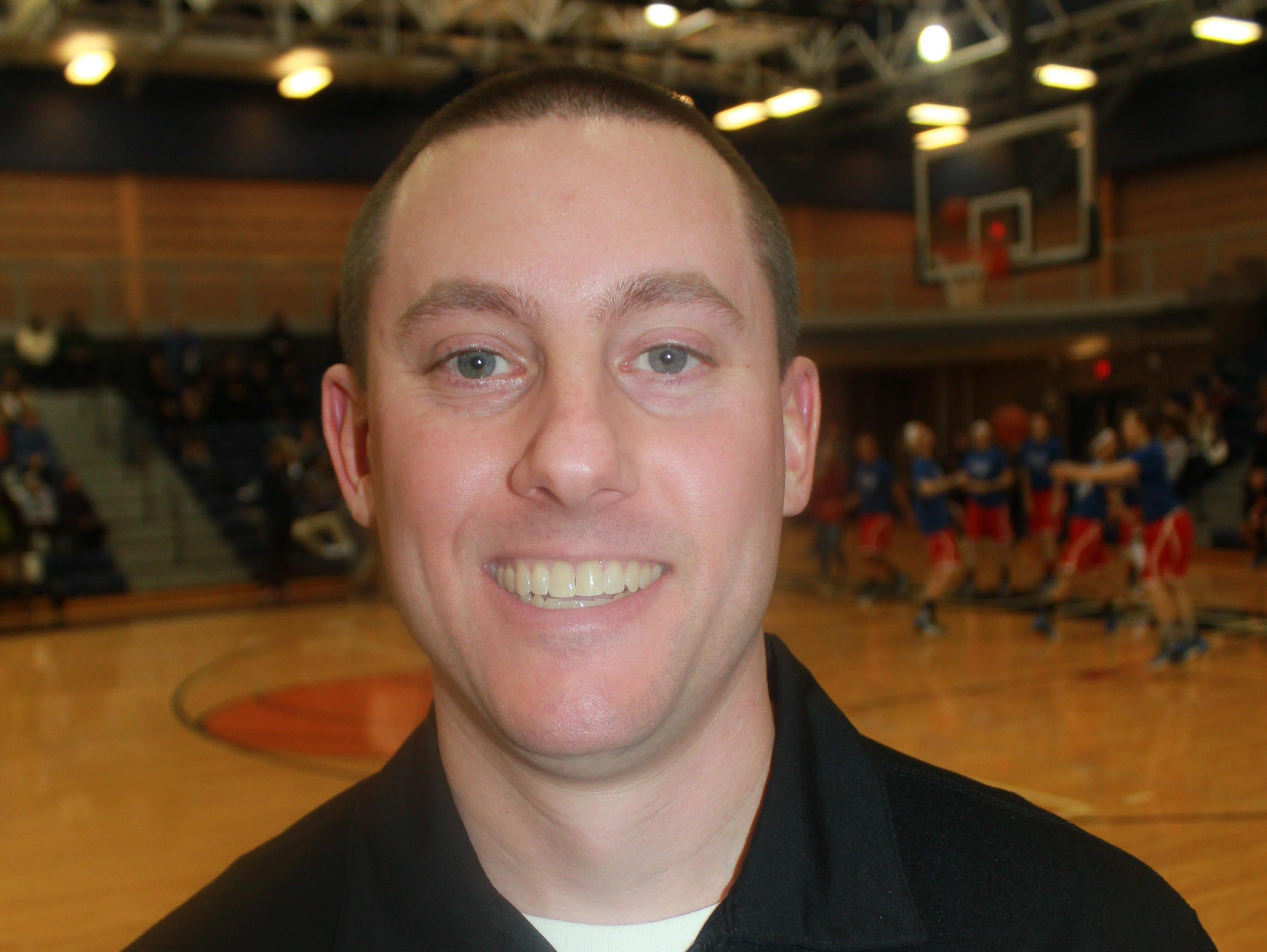 Northville coach Todd Gudith