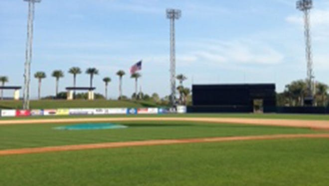 The Detroit Tigers' spring training complex in Lakeland, Fla.