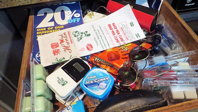 Our cluttered, messy, junky drawer is the sign of creativity.