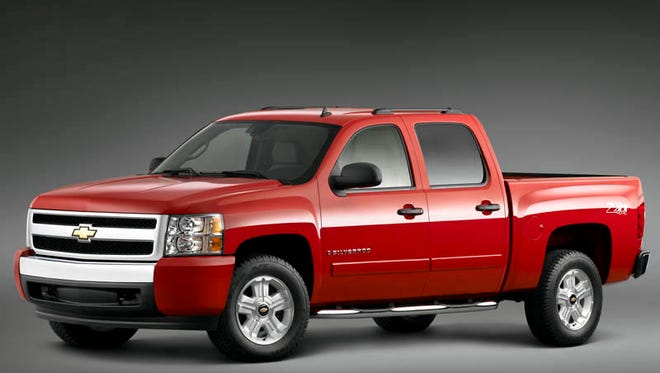 The 2007 Chevrolet Silverado is being recalled