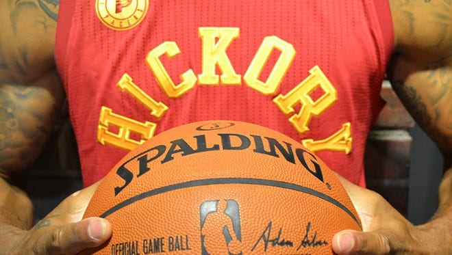 Metro-Goldwyn-Mayer Studios (MGM) and the Indiana Pacers will bring one of the all-time great underdog stories, Hoosiers, to the NBA hardwood, celebrating the film's 30th Anniversary.  For the 2015-16 season, the Pacers will introduce the Hickory uniform to be worn in select regular season games as part of the NBA Pride Collection.