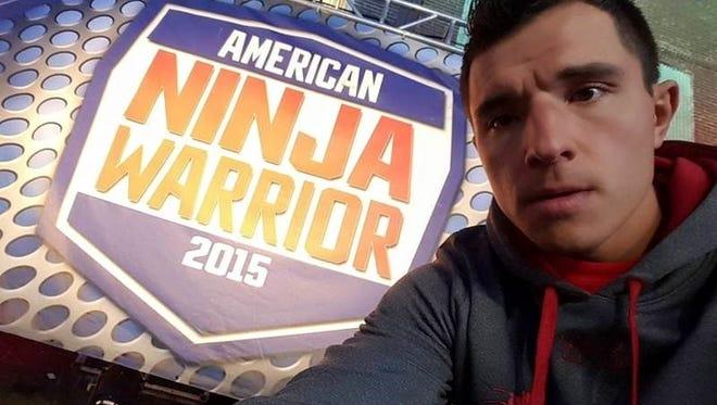 Pavel Fesyuk on American Ninja Warrior.