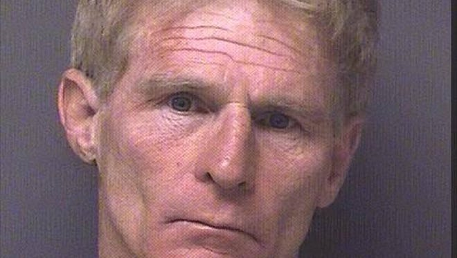 Mark Allan, 56, was sentenced to five years in prison after admitting to a second-degree luring charge.