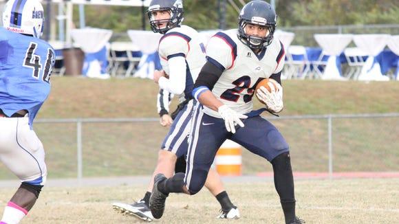 Polk County alum Cary Littlejohn is a senior for the Catawba football team.