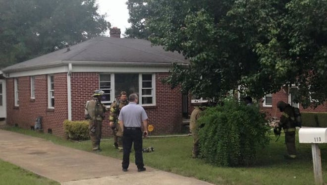 Jackson firefighters said no injuries were reported at a kitchen fire on Northside Drive this morning.