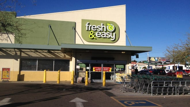 The Fresh & Easy store at Seventh Avenue and Indian School Road is one of one of nine in metro Phoenix. The grocery chain announced Wednesday that it is intending to close its stores.