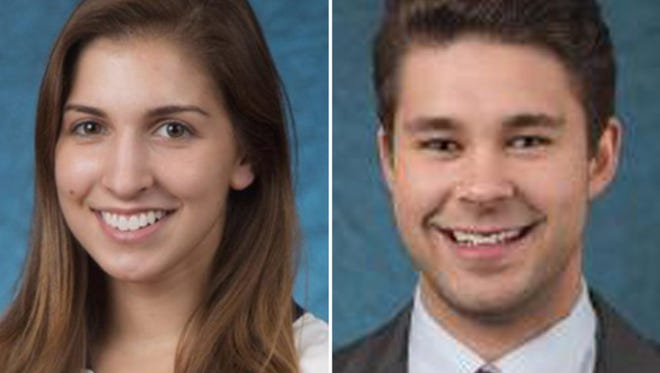 SUNY Geneseo student-athletes Kelsey Annese and Matthew Hutchinson were killed Jan. 17 in Annese's off-campus house.