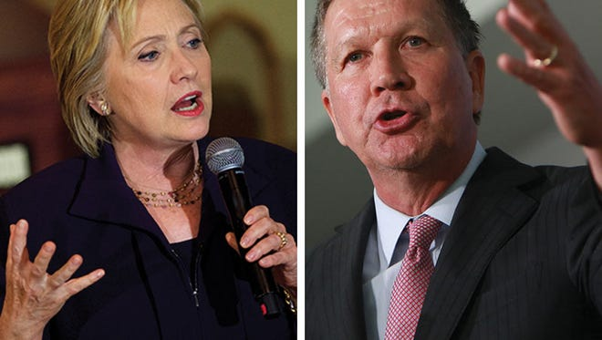 The Free Press Editorial Board on Sunday endorsed Hillary Clinton and John Kasich in the Democratic and Republican presidential primaries.