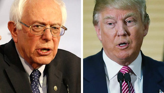 Both Bernie Sanders and Donald Trump have tapped into frustration about wage stagnation as part of their campaigns.
