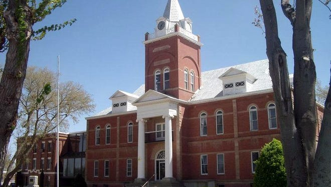 The historic Luna County Courthouse at 700 S. Silver St. in Deming.