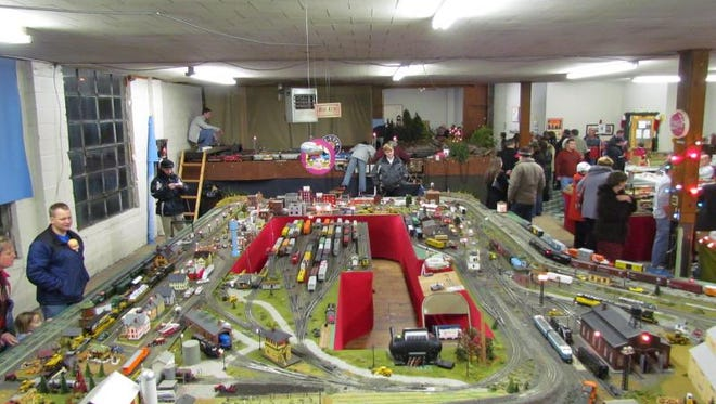 The Annual Christmas Train Display is over 5,000 square feet of detailed train layouts featuring local landscapes, industries, agriculture and some fun hidden scenes among the tracks.