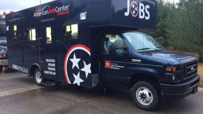 A Mobile American Job Center will help people in Cocke County file for unemployment this week.