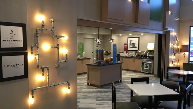 A Hampton Inn & Suites has opened on Adventureland Drive in Altoona.