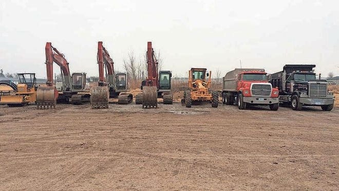 Heavy equipment used by Kinzenbaw Earthmoving is used for a variety of jobs in Iowa County and surrounding area.