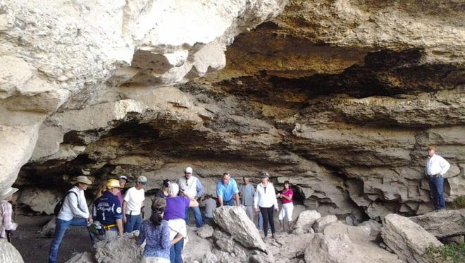 The curious can visit the cave at Cave Creek six times each year with guided hikes conducted by the Desert Foothills Land Trust.