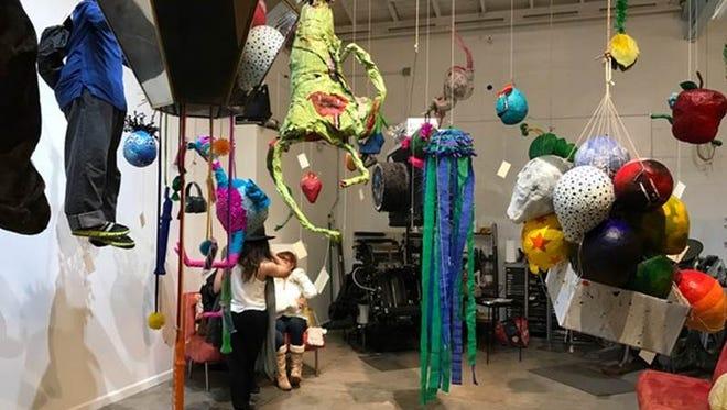 The Mutant Pinata show is part of Art Detour.