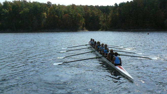 Enka senior Zoe Rose and Roberson senior Ashley Lim will sign to row in college for North Carolina on Wednesday.  They belong to the Asheville Youth Rowing Association.