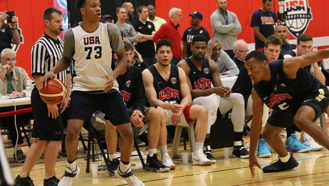 Romeo Langford is playing with the USA U19 Team.