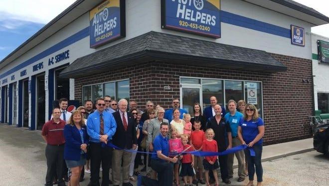 Sheboygan Auto Helpers, 3667 S. Taylor Drive in Sheboygan, held a ribbon cutting July 12.