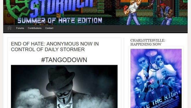 The Daily Stormer is no longer on the open internet.