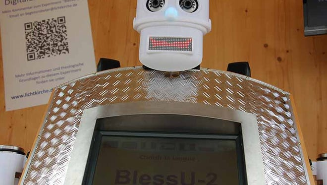 The Evangelical Church in Hesse and Nassau doesn't want to replace human pastors with robots. It just wants to get people talking about the nature of blessing.