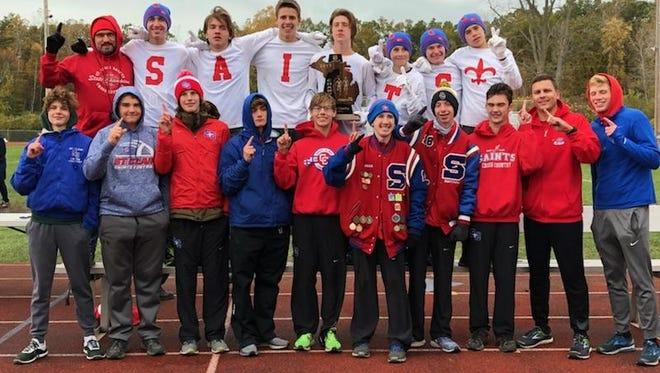The St. Clair cross country team won the Division 2 regional at Algonac High School Saturday.