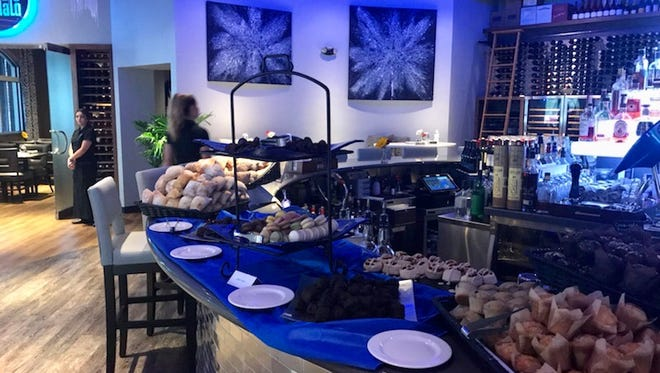 Blu Halo offer a Mother's Day brunch you can have in the dining room or patio — it's 25 percent capacity so reservations are suggested. You can also order brunch for takeout.