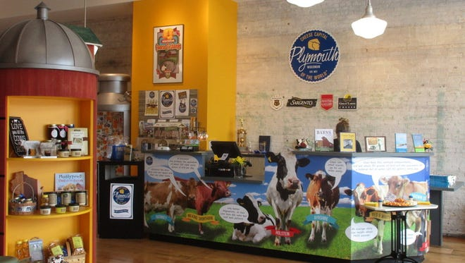 Want to learn more about the history of cheese in Wisconsin? The recently opened (last October) Cheese Counter: Dairy Heritage Center In Plymouth is the place to visit.