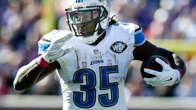 Lions running back Joique Bell